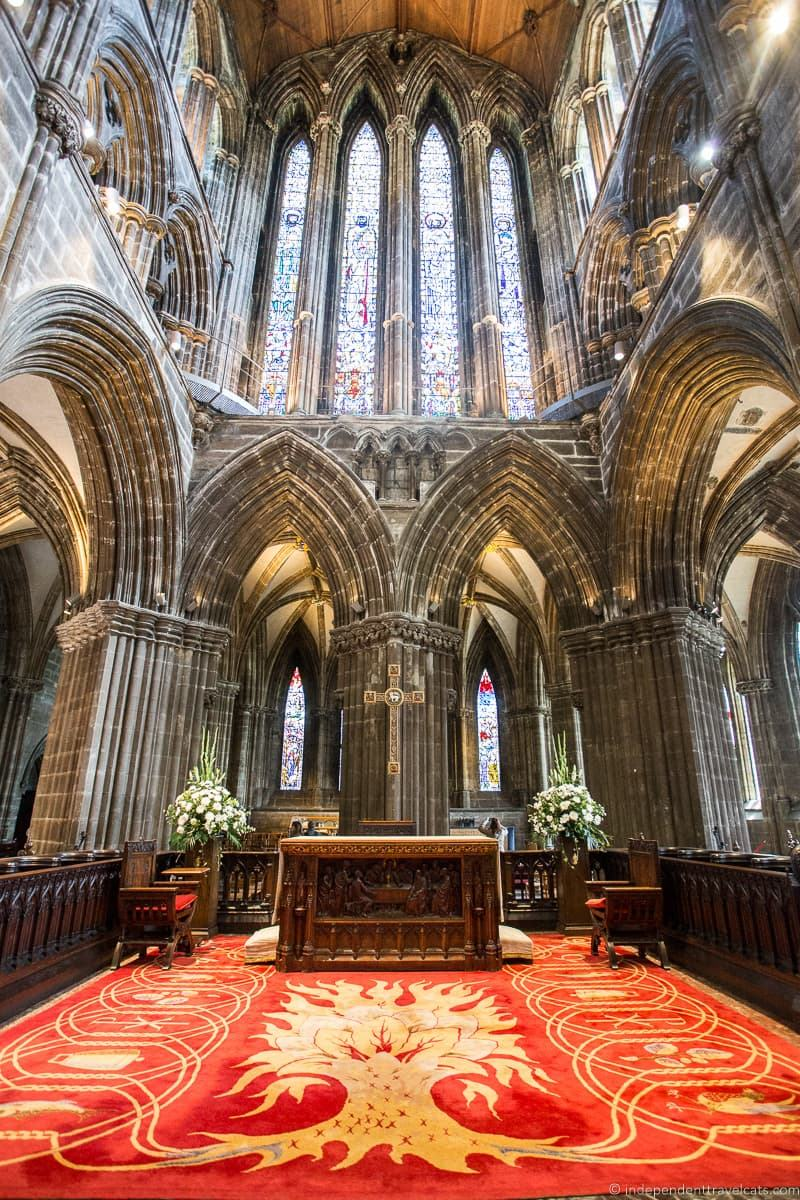 Glasgow Cathedral Robert Burns Supper where to celebrate Burns Night in Scotland