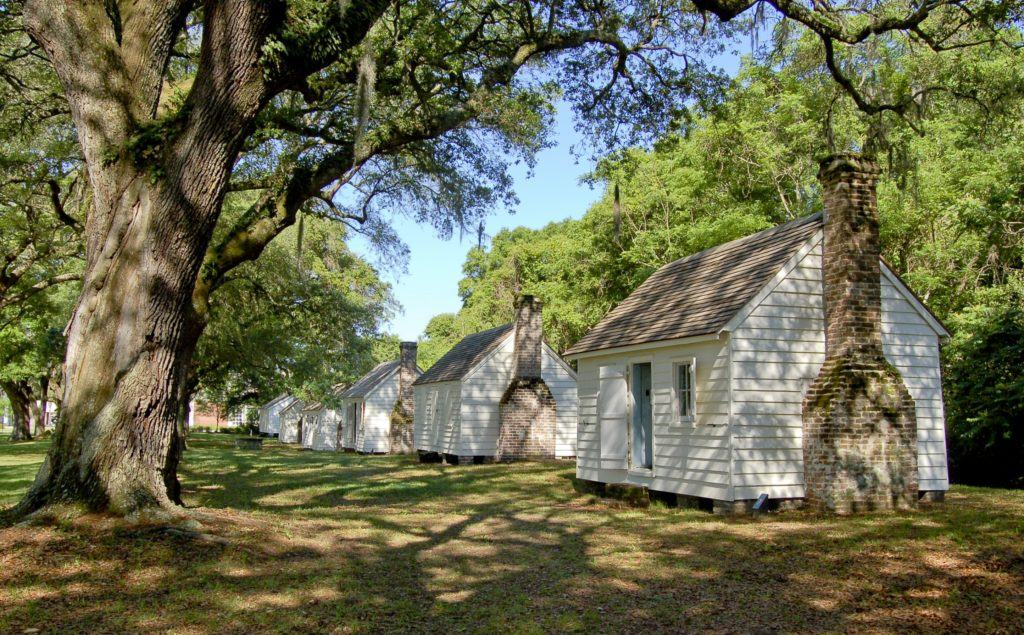 slave cabins McLeod Plantation Historical Site Charleston plantations guide South Carolina plantation tours