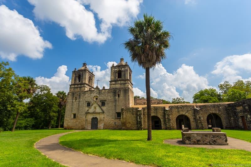 Mission Concepción A guide to visiting The Alamo in San Antonio Texas San Antonio Missions National Historical Park