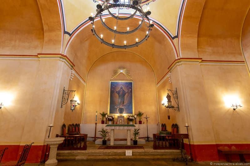 Mission Concepción altar A guide to visiting The Alamo in San Antonio Texas San Antonio Missions National Historical Park