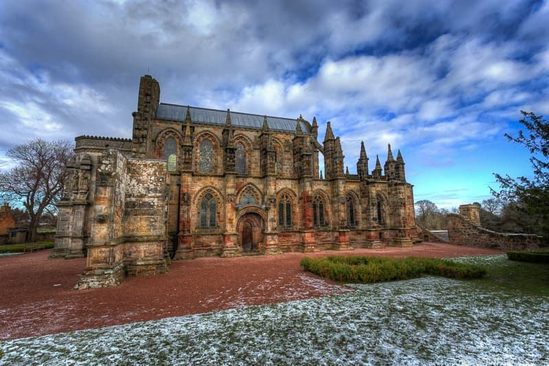 Rosslyn Chapel Roslin day trips from Edinburgh day trips Edinburgh day tours Scotland