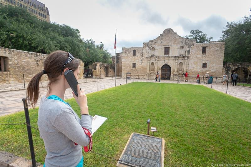 Alamo audio guide A guide to visiting The Alamo in San Antonio Texas San Antonio Missions National Historical Park