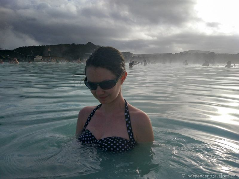 woman at Blue Lagoon comprehensive guide to visiting the Blue Lagoon in Iceland Blue Lagoon Iceland tips and advice