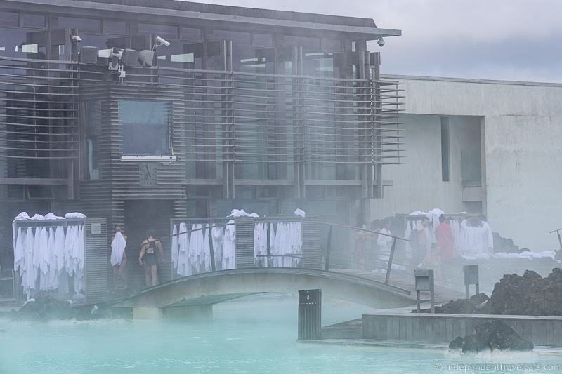 Blue Lagoon towel and robe racks comprehensive guide to visiting the Blue Lagoon in Iceland Blue Lagoon Iceland tips and advice