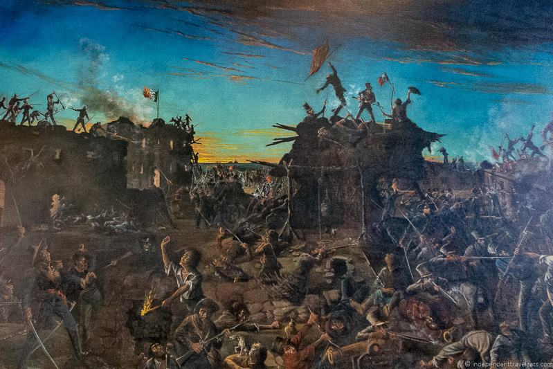 Dawn at the Alamo painting by Henry Arthur McArdle A guide to visiting The Alamo in San Antonio Texas San Antonio Missions National Historical Park