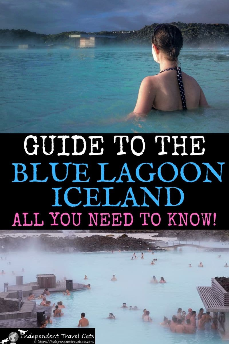 The ultimate guide visiting the Blue Lagoon in Iceland! Our guide covers how to get there, how to make reservations, cost of entry, what to expect inside the spa, what you need to bring, how to protect your hair, how to protect your camera, Icelandic spa etiquette, and how to book luxury spa experiences. We also provide lots of tips on making the most of your time at the Blue Lagoon in Iceland! #BlueLagoon #Iceland #spa #thermalpool #BlueLagoonIceland #BláaLónið #travel