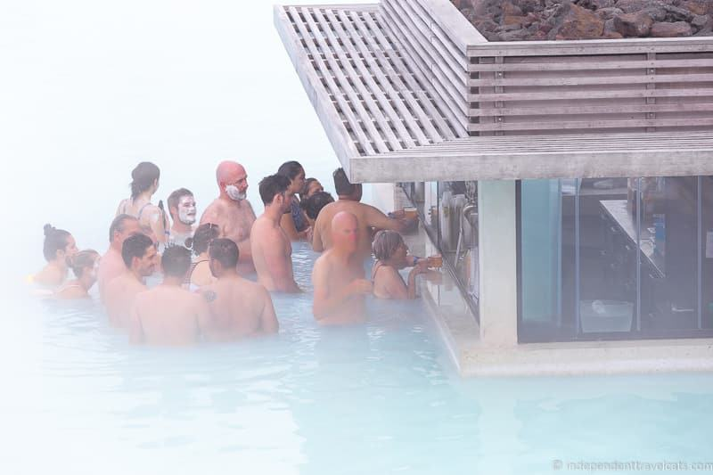 Blue Lagoon swim-up bar comprehensive guide to visiting the Blue Lagoon in Iceland Blue Lagoon tips and advice
