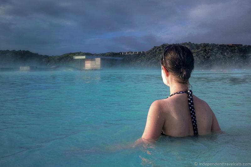 woman at Blue Lagoon Bláa Lónið comprehensive guide to visiting the Blue Lagoon in Iceland Blue Lagoon tips and advice