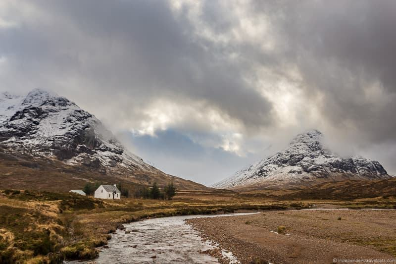 Glen Coe Glencoe Harry Potter filming locations in Scotland UK