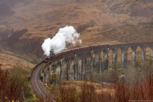 Harry Potter filming locations in Scotland UK