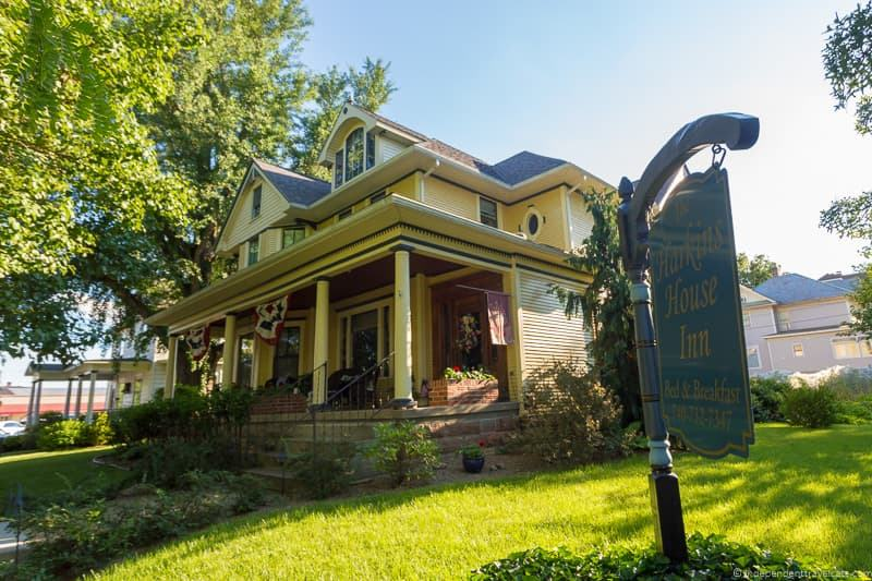 Harkins House Inn B&B things to do in Caldwell Ohio Noble County Ohio