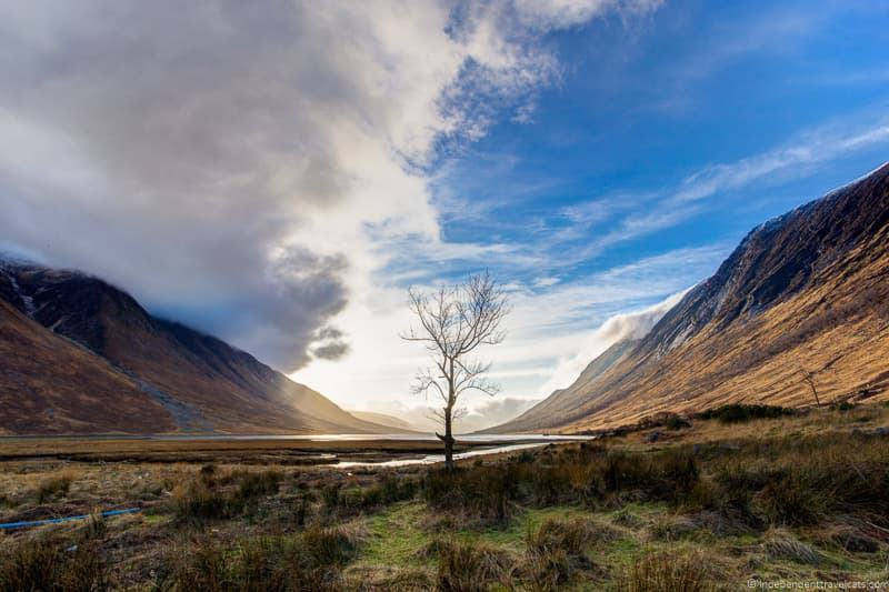 Loch Etive Glencoe Harry Potter filming locations in Scotland UK