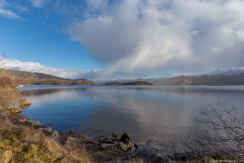 Loch Morar Harry Potter filming locations in Scotland UK