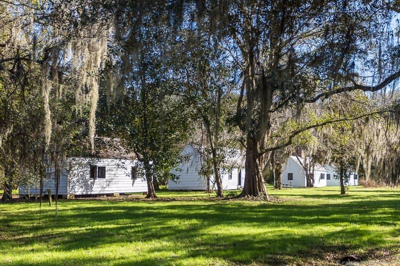 slave cabins Magnolia Plantation and Gardens Charleston plantations guide South Carolina plantation tours
