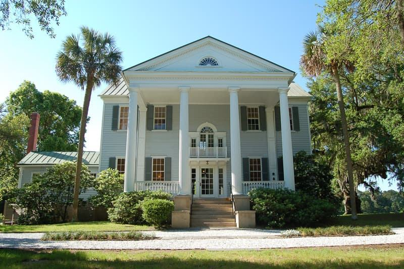 McLeod Plantation Historical Site main house Charleston plantations guide South Carolina plantation tours