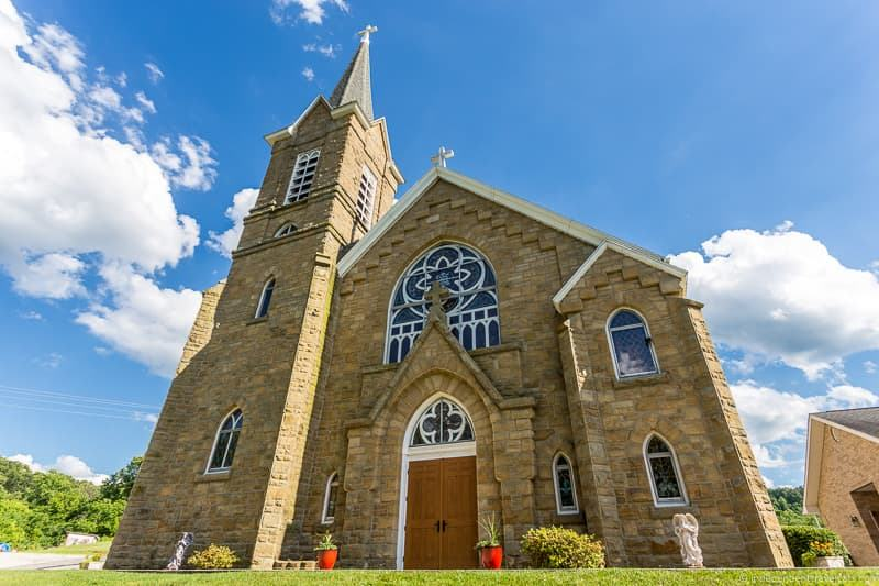 St. Henry's Church Harrietsville Ohio things to do in Caldwell Ohio Noble County Ohio