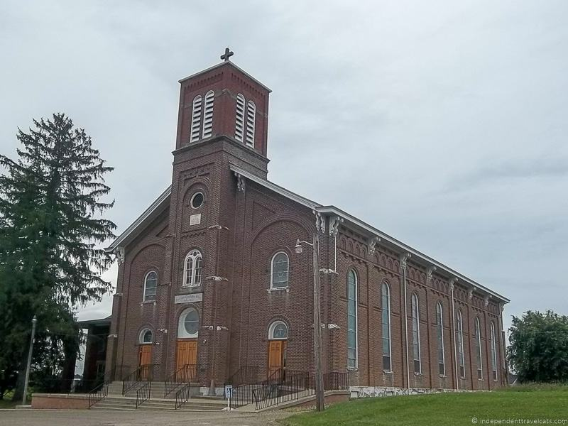 St. Mary's Immaculate Conception Catholic Church Fulda OH things to do in Caldwell Ohio Noble County Ohio