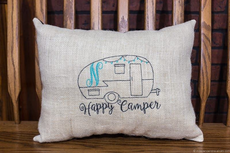 RV camper pillow travel gift guide best gifts for travelers traveler gift ideas