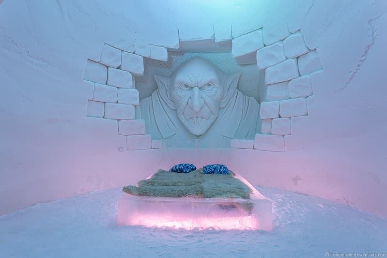 snow hotel Kemi SnowHotel ice hotel winter in Finland winter activities in Finland