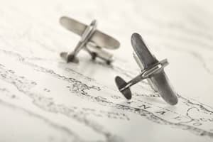airplane cufflinks travel jewelry jewelry for travelers travel themed jewelry jewellery for travellers