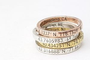 stacking coordinates rings travel jewelry jewelry for travelers travel themed jewelry jewellery for travellers