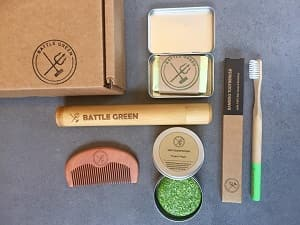 eco friendly travel kit gifts for travelers