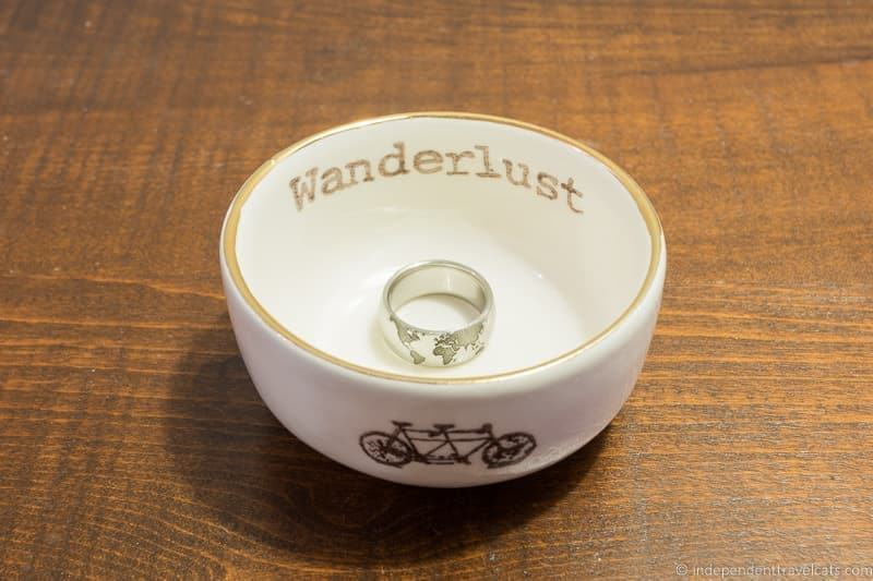 travel ring dish trinket dish travel gift guide best gifts for travelers traveler gift ideas