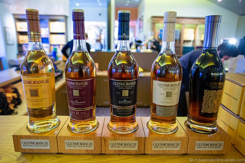 Glenmorangie Distillery whisky 7 day North Coast 500 road trip itinerary Scotland