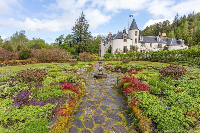 Attadale Gardens 7 day North Coast 500 road trip itinerary Scotland