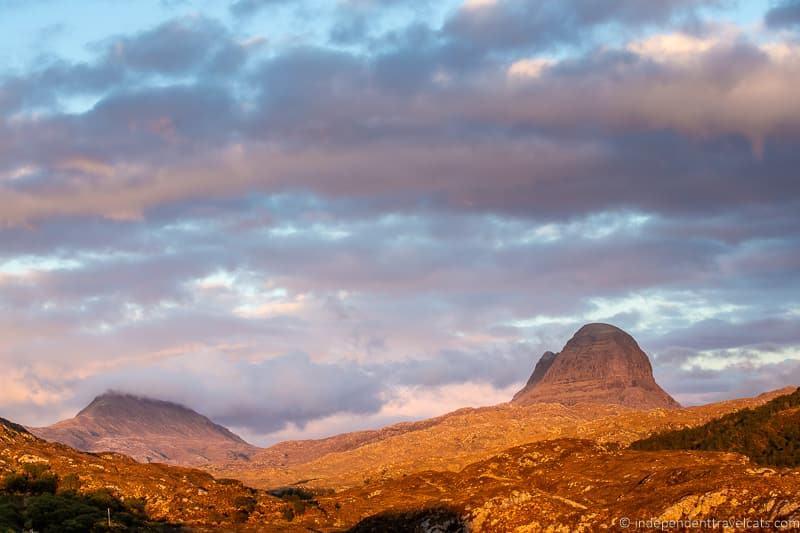 Suliven Assynt 7 day North Coast 500 road trip itinerary Scotland