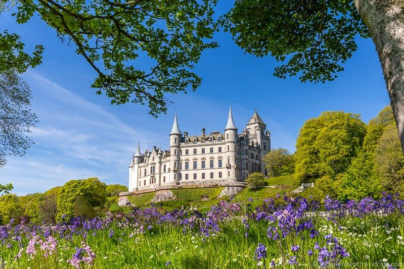 Dunrobin Castle 7 day North Coast 500 road trip itinerary Scotland