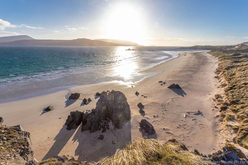Balnakeil Bay North Coast 500 itinerary Scotland