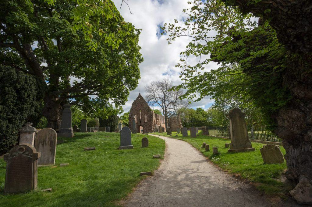Beauly Priory Scotland 7 day North Coast 500 road trip itinerary Scotland