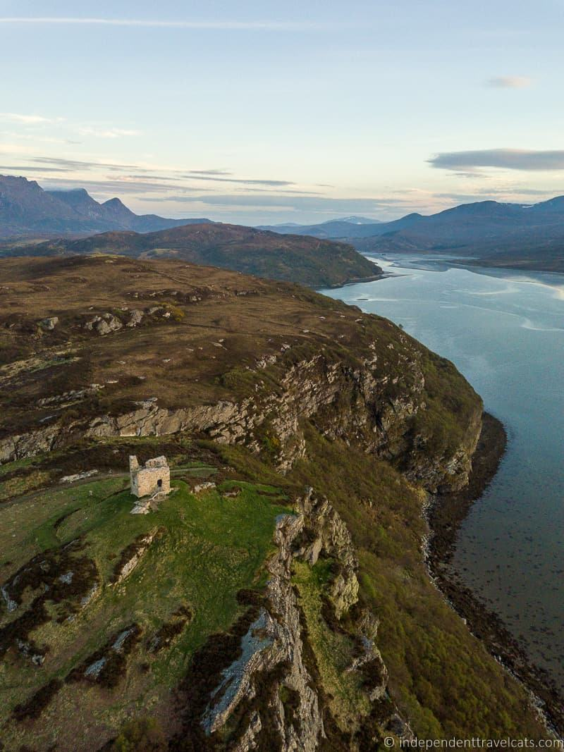Castle Varrich Tongue 7 day North Coast 500 road trip itinerary Scotland