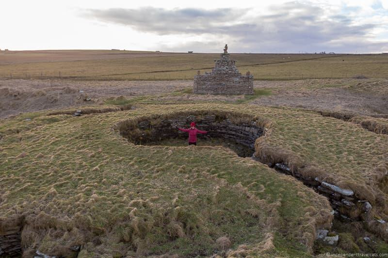 Nybster Broch 7 day North Coast 500 road trip itinerary Scotland