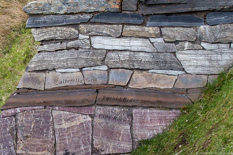 Knockan Crag 7 day North Coast 500 road trip itinerary Scotland