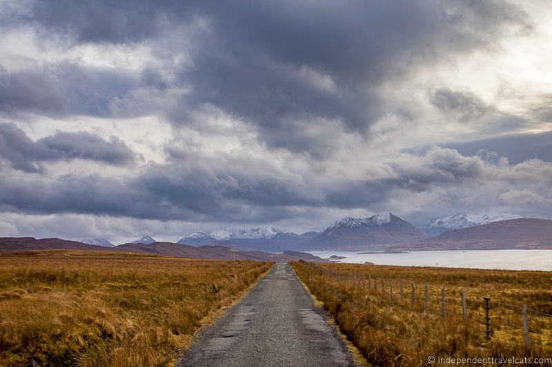 Calum's Road Isle of Raasay travel guide things to do on the Isle of Raasay