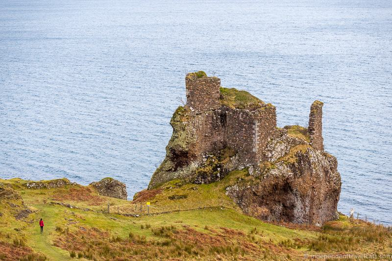 Brochel Castle ruin Isle of Raasay travel guide things to do on the Isle of Raasay