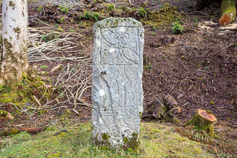 Pictish Stone Isle of Raasay travel guide things to do on the Isle of Raasay