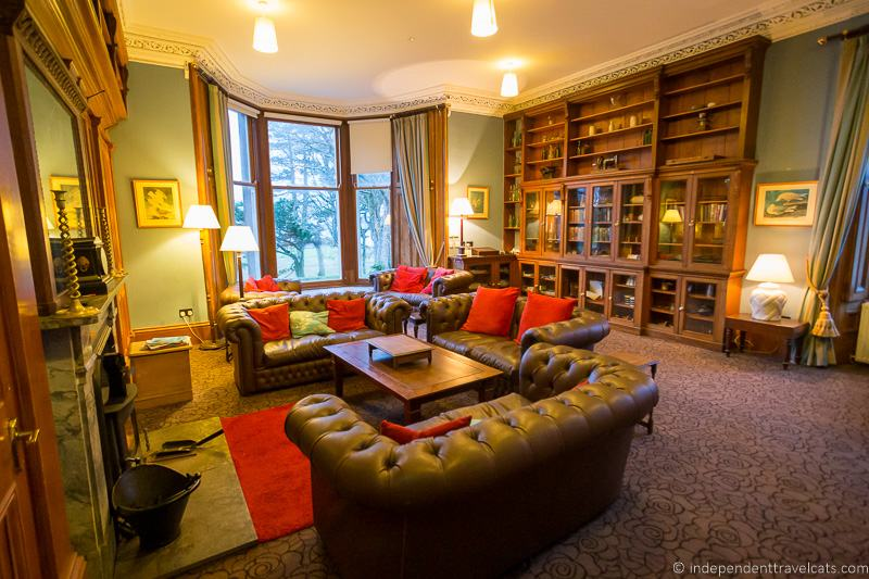 Raasay House guest lounge Isle of Raasay travel guide things to do on the Isle of Raasay