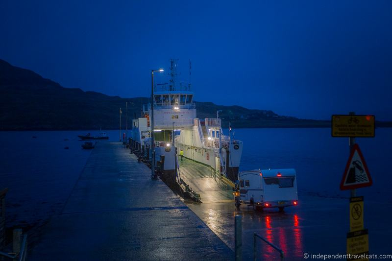 CalMac ferry to Raasay from Sconser Skye how to get to Isle of Raasay Isle of Raasay travel guide