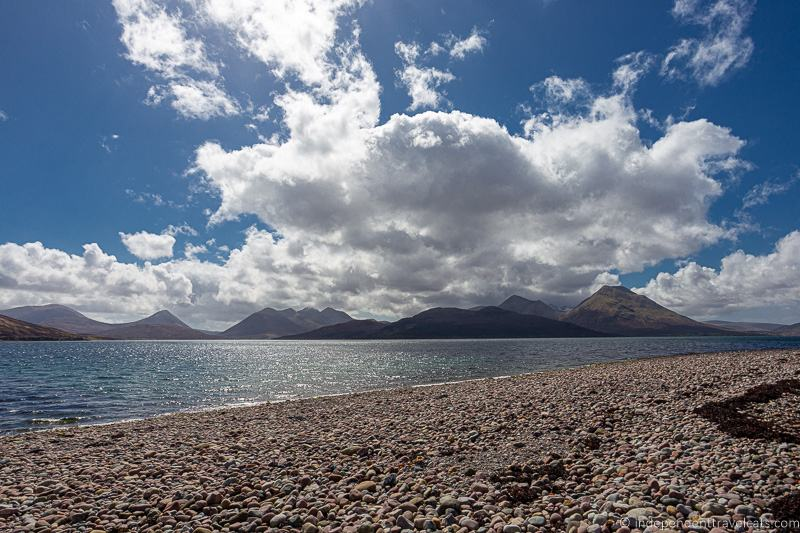 beach Isle of Raasay travel guide things to do on the Isle of Raasay