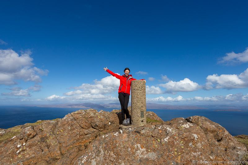 Dun Caaa hike Dun Cana hiking Isle of Raasay travel guide things to do on the Isle of Raasay
