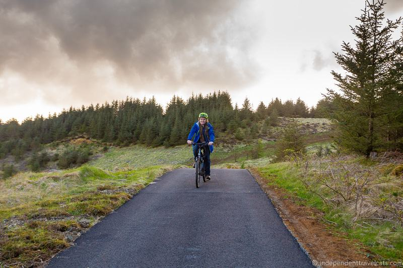 Raasay bikes cycling Isle of Raasay travel guide things to do on the Isle of Raasay