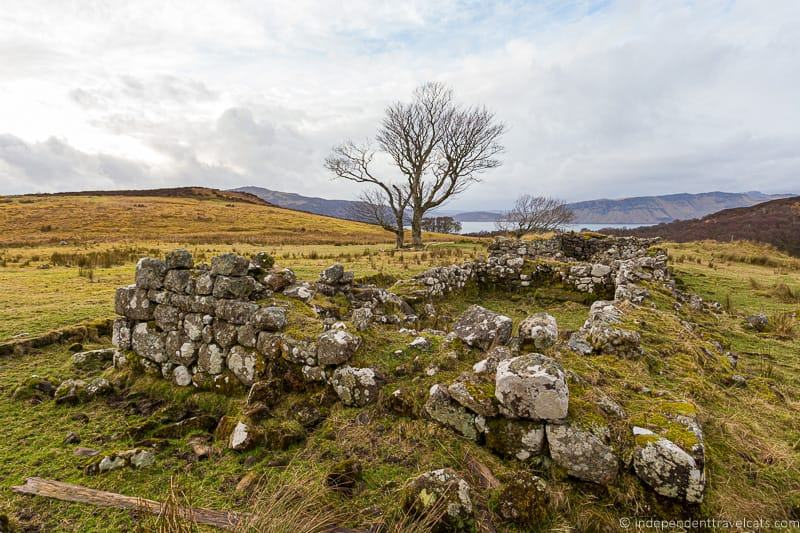 Highland Clearances Isle of Raasay travel guide things to do on the Isle of Raasay