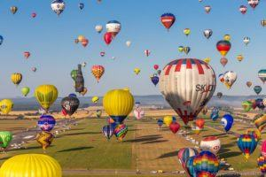 Grand Est Mondial Air Balloons hot air balloon festival France