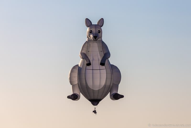kangaroo hopper balloon Grand Est Mondial Air Balloons hot air balloon festival France