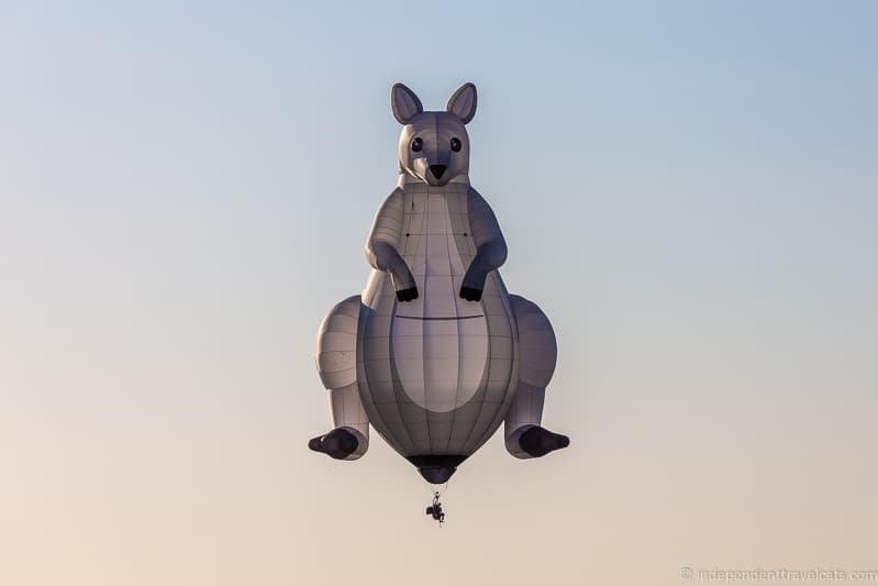 kangaroo hopper balloon Grand Est Mondial Air Balloons hot air balloon festival France