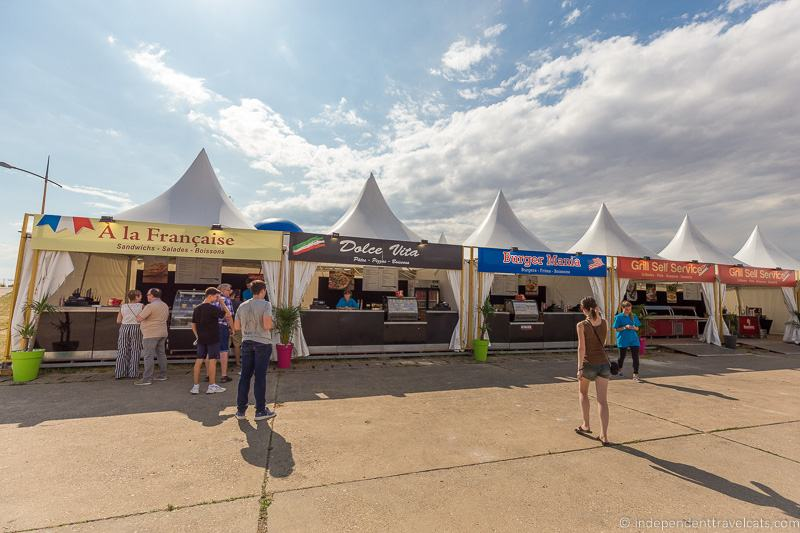 food vendors Grand Line Grand Est Mondial Air Balloons hot air balloon festival France