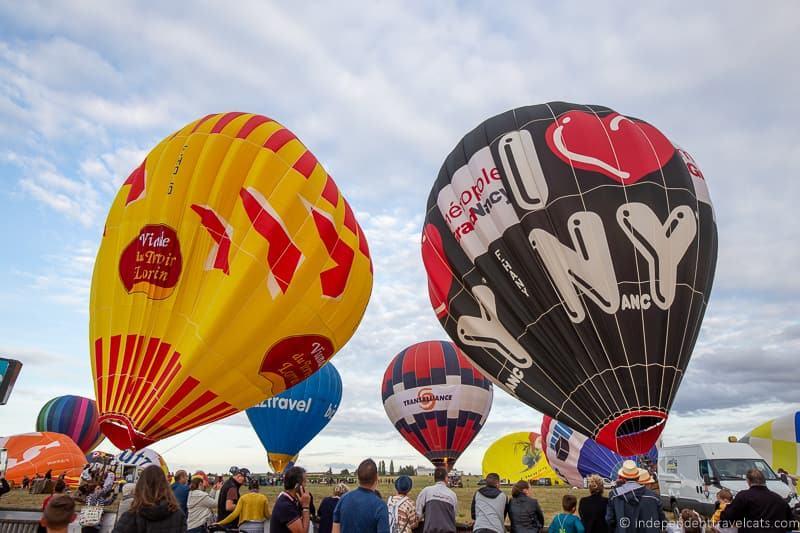 public viewing area Grand Est Mondial Air Balloons hot air balloon festival France